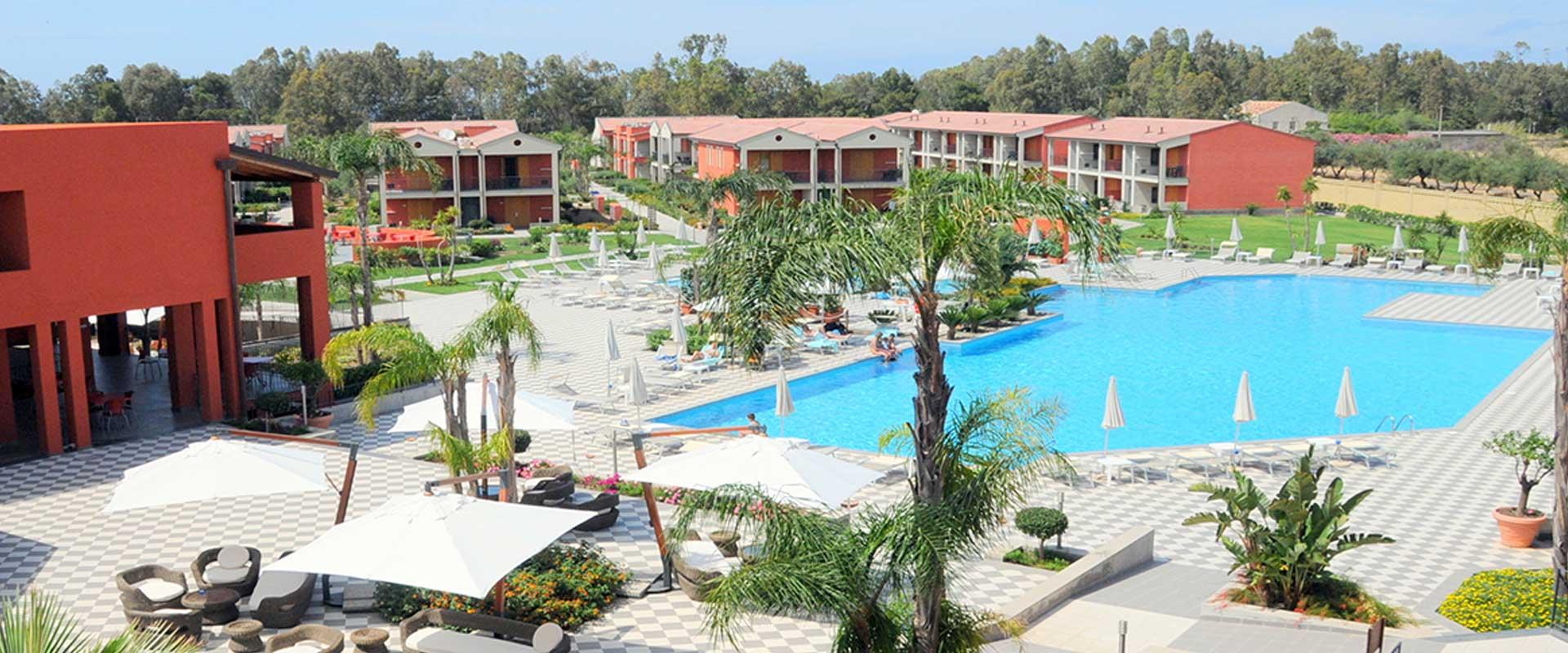 Villaggio voi arenella resort for Hotel resort siracusa